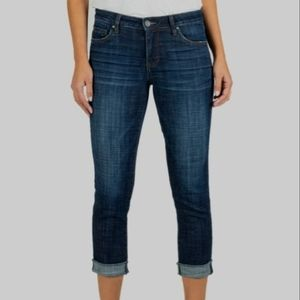 KUT from the KLOTH Amy Ankle Straight Jeans